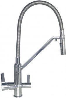 Смеситель кухонный с подключением к фильтру TOPAZ Sardinia TS 8812-H24