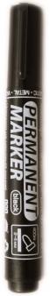Набор перманентных маркеров Buromax Jobmax 2-4 мм 12 шт Черный (BM.8703-01)