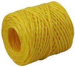 Шпагат Радосвіт полипропиленовый желтый, 60 м / бобина (4820172933151)