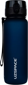 Бутылка для воды Uzspace Frosted 3053 800 мл Синяя (6955482378809)