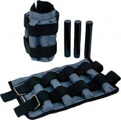 Утяжелительные манжеты Onhillsport 2 кг (под грузы 2х2 кг, 500 г - 8 шт) комплект Серые (МЕ-0253)