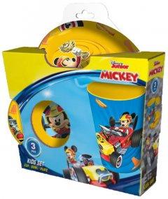Столовый сервиз Herevin Disney Mickey из 3 предметов (162441-800)