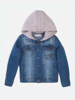 Джинсова куртка Minoti Edgy 1 16359 98-104 см Синя (5059030477097)