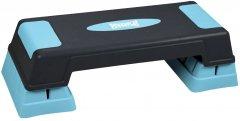 Cтеп-платформа PowerPlay 4329 (3 уровня 12-17-22 см) Черно-голубая (PP_4329_(3)_Black/Blue)