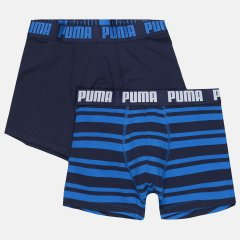 Трусы-шорты Puma Heritage Stripe Boxer 2 90783803 M 2 шт Blue (8718824909615)