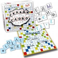 Настольная игра Майстер Составь слово. Эрудит Scrabble (МКМ0316)