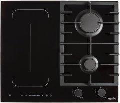 Варочная поверхность комбинированная Ventolux HG622 B9G CS FI (BK)