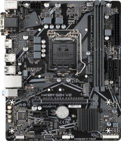 Материнская плата Gigabyte H410M S2H V2 (s1200, Intel H470, PCI-Ex16)