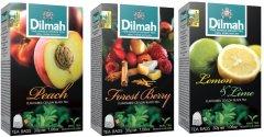 Набор чая Dilmah Фруктовое Ассорти 3 шт х 20 пакетиков (4820134142003)