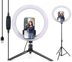 Набор блогера 2в1 XOKO BS-210 (стойка 160 см с LED-лампой 26 см, штатив 19 см настольный)