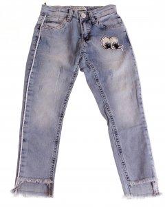 Штани Джинсові Breeze Блакитний 134 см ESC-1981-2 (521754)