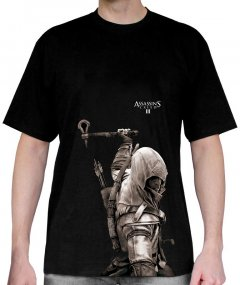 Футболка ABYstyle Assassin's Creed L Черная (ABYTEX193L)