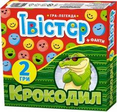 Набор игр Мій Успіх + Твистер + Крокодил (укр) (4823076000257)