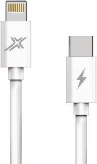 Кабель Grand-X TypeC-Lightning для быстрой зарядки iPhone 20W White (CL-07)