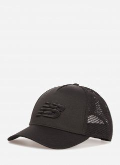 Кепка New Balance F - Team Trucker MH013035BK Черная (194389315272)
