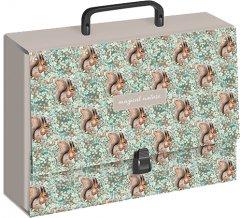 Папка-портфель Interdruk Girls Animals C4 картонная ламинированная с ручкой (237385G5)