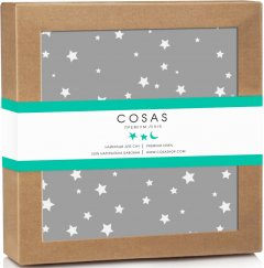 Непромокаемая пеленка Cosas Бязь 70х120 см Diaper_Gstar Серая (4822052024324)