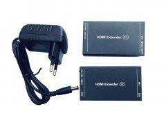 Активний подовжувач HDMI сигналу по витій парі Atcom HDMI Ethernet до 60м