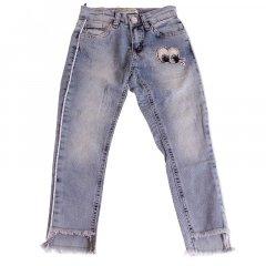 Штани джинсові для дівчинки BREEZE ESC-1981-2 152 см блакитний (478108)