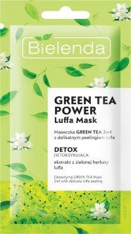 Маска-пилинг для лица Bielenda Luffa 2 в 1 Зеленый чай 8 г (55902169039349)