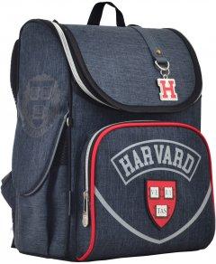 Рюкзак школьный каркасный YES H-11 Harvard 33.5x26x13.5 Мужской (555136)
