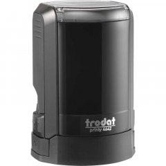 Оснастка для круглой печати Trodat Printy 4642 диаметр 42 мм с колпачком Цвет корпуса Черный (4642 NEW чорн)