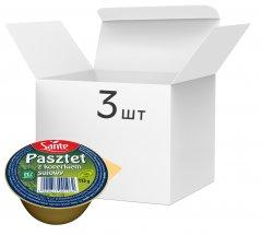 Упаковка паштета соевого Sante без глютена с укропом 113 г х 3 шт (1900617001966)