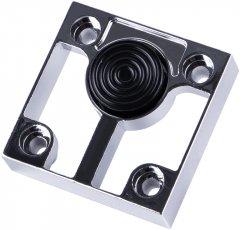 Ножка мебельная Ferro Fiori M 12030 16 мм с площадкой 60 х 60, нагрузка 200 кг Хром (VR51259)
