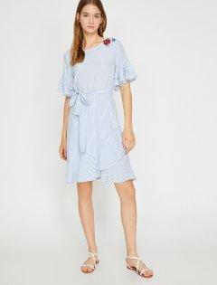 Платье Koton 8YAK83321EW-03N 42 Blue Stripe (8681953781769)