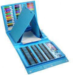 Набор для рисования Supretto 176 предметов Голубой (5825-10002)