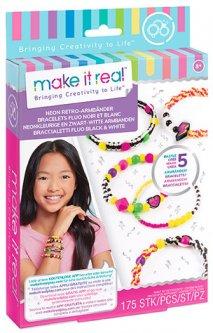 Набор для создания шарм-браслетов Make it Real Неоновый стиль (MR1209)