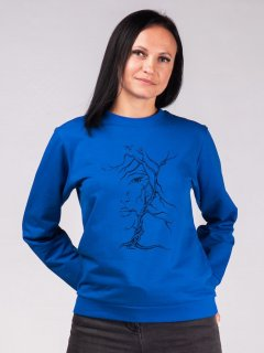 Свитшот Malta Ж458-13-Р1 Wooman-Tree М (44) Синий (2901000243672_mlt)