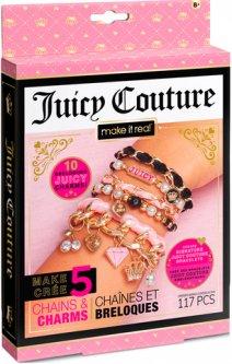 Набор для создания шарм-браслетов Make it Real Juicy Couture Королевский шарм (MR4431)