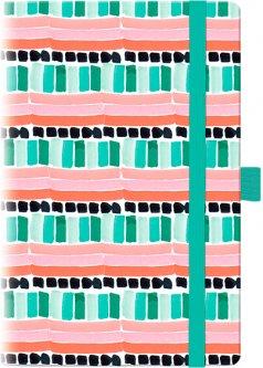 Недатированный еженедельник Brunnen Смарт Графо Mint&Pink BBH 192 страницы (73-792 68 02)