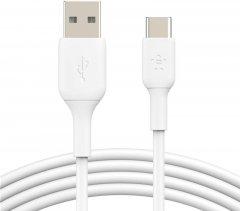 Кабель Belkin USB-A - USB-С PVC 3 м White (CAB001BT3MWH)