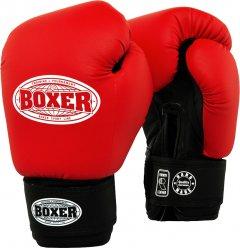 Перчатки боксерские BOXER Элит 10 унций Красные (2022-04R)