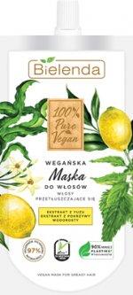 Маска для волос Bielenda 100% Pure Vegan для жирных и тонких волос и сухих кончиков 125 мл (5902169039455)