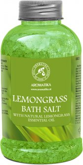 Соль морская для ванн Ароматика Лемонграс 600 г (4820177022164)