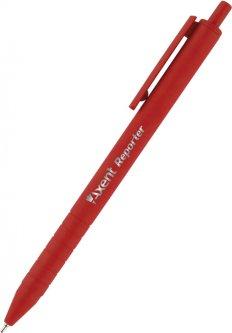 Набор ручек Axent Reporter автоматических масляных Красных 0.7 мм Красный корпус 12 шт (AB1065-06-A)