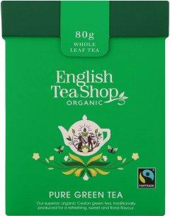 Чай зеленый English Tea Shop English breakfast Органический + Ложка 80 г (680275059882)