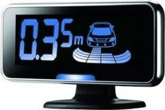 Парковочный радар для заднего бампера c LCD-дисплеем Steelmate PTS410V4 Black