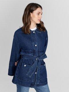 Джинсовая куртка O'STIN LJ6W61D4M M Синяя (2990035010397)