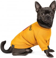 """Толстовка Pet Fashion """"SUPERDOG"""" для собак размер M, Оранжевая (4823082420308)"""