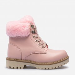 Ботинки кожаные VUVU KIDS Pink skin 666 33 (2) (1) 20.7 см Розовые (8380000266633)