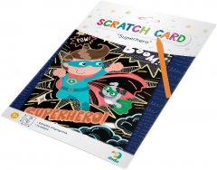 Гравюра Dodo Супергерой цветной картон (300194) (4820198241773)