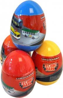 Машинка в яйце Techno Park Служебный транспорт Минимодели, в ассортименте (SB-19-02-CDU) (6900006514911)