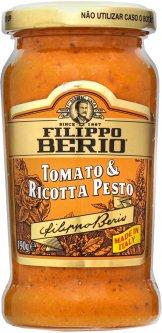 Соус Filippo Berio Песто с томатами и сыром Рикотта 190 г (8002210130999)