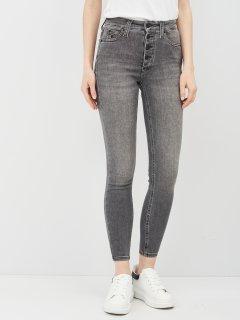 Джинси Calvin Klein Jeans High Rise Super Skinny Ankle J20J216299-1BZ 25 Denim Grey (8719853759882)