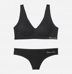 Комплект белья Victoria's Secret 705446537 XS-M/One size Черный (1159752592)