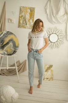 Жіночі джинси Woox 1042 ХЅ Синій (1042 - 12972)